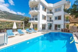 Patara manzaralı havuzu korunaklı kiralık villa - Yazlık Villa