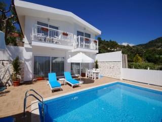 Kalkanda Muhafazakar tatil için özel balayı villası Yazlık Villa