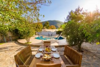 Villa Levissi, Fethiye Kayaköyde 10 Kişilik Kiralık Tatil Villası