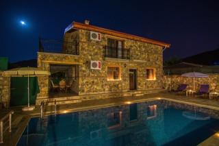 Villa Şato, Fethiye Kayaköyde Bulunan Lüks Kiralık Villa