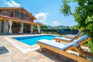 Villa Ekin; Fethiye Kayaköyde 3 Yatak Odalı Kiralık Villa