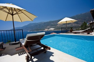 Villa Kağan 2, Kaş'ta 3 Odalı Deniz Manzaralı Yazlık Villa