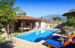 Tangala Evi, Fethiye Kayaköy 1 Odalı Balayı Tatil Villası